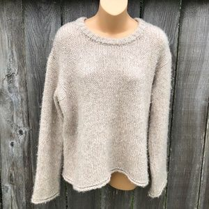 Velvet Graham & Spencer Sweater Byrdie Alpaca Sz S